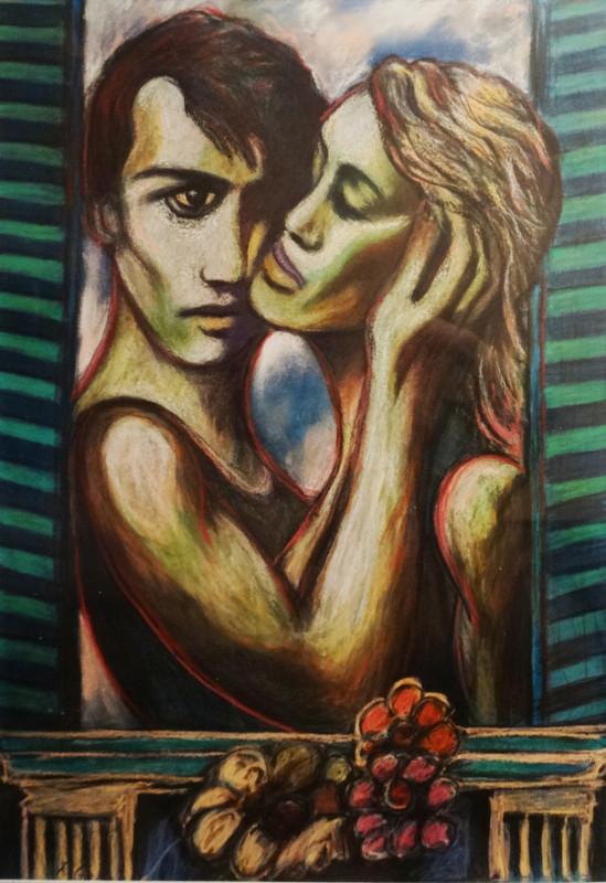 wnętrza, obrazy, sztuka, Roman Kędzierski